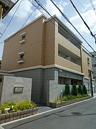 大阪府大阪市住吉区長峡町の賃貸マンションの外観