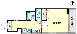 TOYOTOMI STAY Premium 難波桜川II 7階1Kの間取り