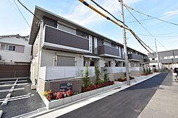大阪府八尾市東太子1丁目の賃貸アパートの外観