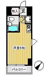 千葉県松戸市根本の賃貸アパートの間取り