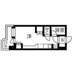 サンシャインシティ21[4階]の間取り