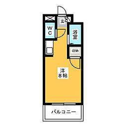 ボナミ博多[6階]の間取り