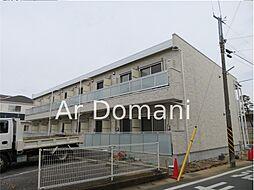 千葉県松戸市樋野口の賃貸アパートの外観