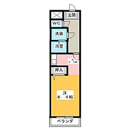 クレールシャンブル[1階]の間取り