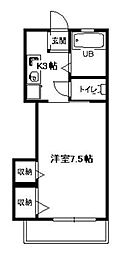 エタニティ[2階]の間取り