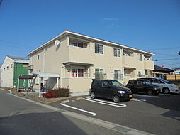愛知県北名古屋市弥勒寺西3の賃貸アパートの外観