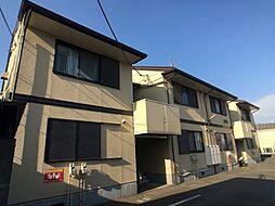 神奈川県相模原市中央区上溝1丁目の賃貸アパートの外観