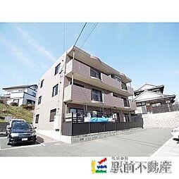 福岡県古賀市小竹の賃貸マンションの外観