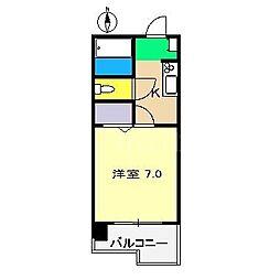 第一 すいめい[2階]の間取り