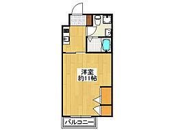 FmaisonPLAGE[3階]の間取り