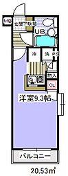 ローズガーデン36番館[3階]の間取り