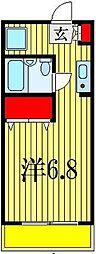 ドエル西船[1階]の間取り