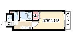 愛知県名古屋市天白区植田本町3の賃貸マンションの間取り
