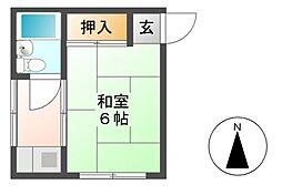中沢ビル[3階]の間取り