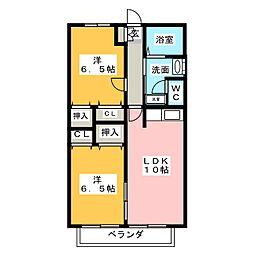 サンレトア[2階]の間取り