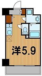 神奈川県横浜市保土ケ谷区保土ケ谷町1丁目の賃貸マンションの間取り