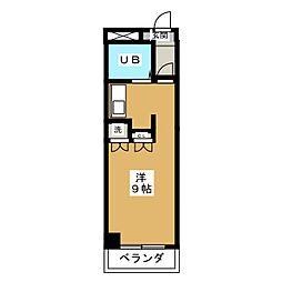 第2ロータスビル[3階]の間取り