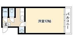 愛知県名古屋市熱田区青池町3丁目の賃貸マンションの間取り