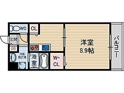 アムールプログレ[2階]の間取り