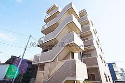 神奈川県平塚市天沼の賃貸マンションの外観