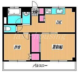東京都杉並区西荻南4丁目の賃貸マンションの間取り