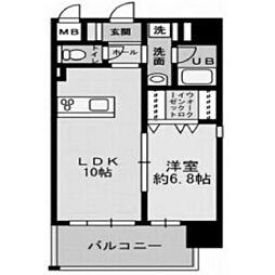 ハアラン高柳[2階]の間取り