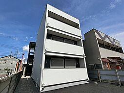 千葉県千葉市中央区稲荷町2丁目の賃貸アパートの外観