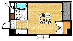 西賀茂ロイヤルリバーマンション[106号室号室]の間取り