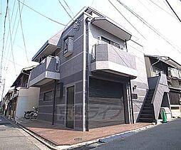 京都府京都市東山区月輪町の賃貸マンションの外観