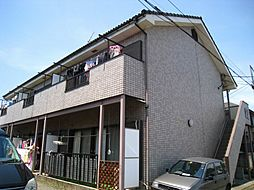 東京都立川市柏町1丁目の賃貸アパートの外観