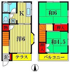 [テラスハウス] 埼玉県三郷市高州3丁目 の賃貸【/】の間取り
