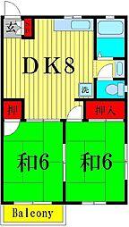 小泉ハイツ[2階]の間取り