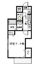 LaniKai 2階[2階]の間取り