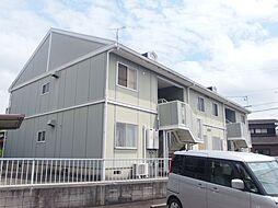 愛知県岡崎市福岡町字北裏の賃貸アパートの外観