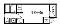 FUJISTA幡ヶ谷II[1階]の間取り
