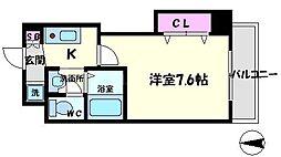 MPRAZA守口東[3階]の間取り