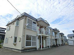 北海道札幌市東区東苗穂十三条4丁目の賃貸アパートの外観