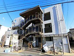 兵庫県西宮市甲子園浜田町の賃貸マンションの外観