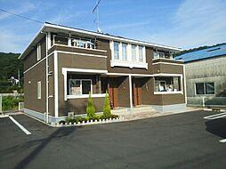広島県福山市沼隈町大字草深の賃貸アパートの外観