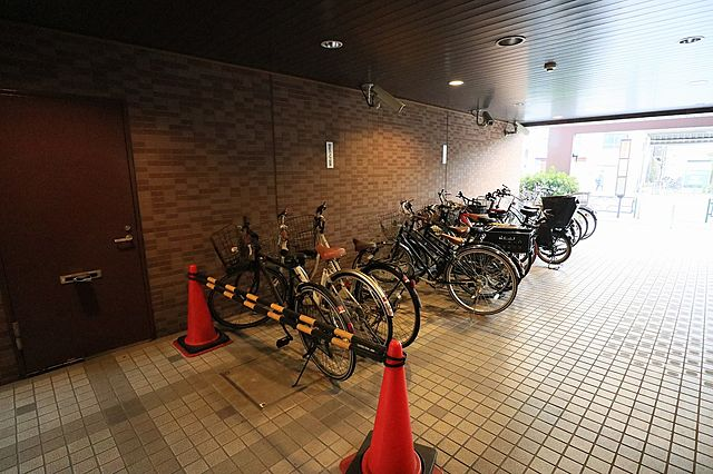 駐輪場完備(空き状況についてはお問い合わせください)