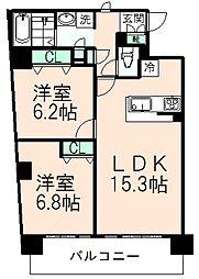 LAULE'A SEISEKI[5階]の間取り