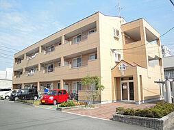 愛媛県松山市保免上2丁目の賃貸アパートの外観