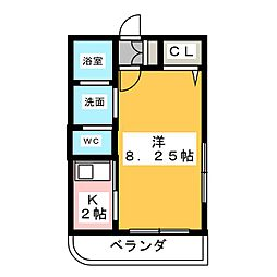 杏[1階]の間取り