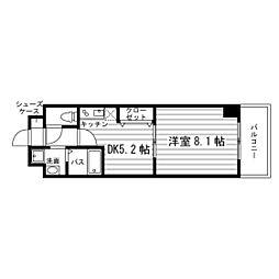 エスポアール春日井[2階]の間取り