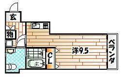玉ちゃんハウス[2階]の間取り