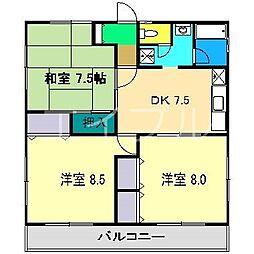 ANNEX・Y C棟[2階]の間取り
