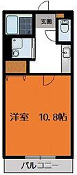 レトア篠崎[105号室号室]の間取り