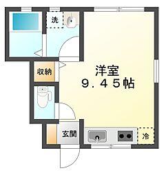 ステラ野田[1階]の間取り