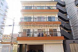 ローズマンション北通[1階]の外観