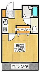エトワール桃山(京町)[103号室]の間取り